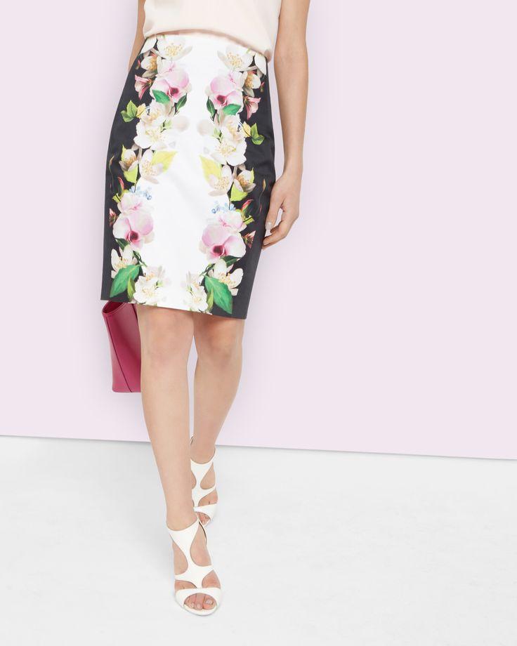 Forget Me Not pencil skirt - Black   Outlet   Ted Baker UK