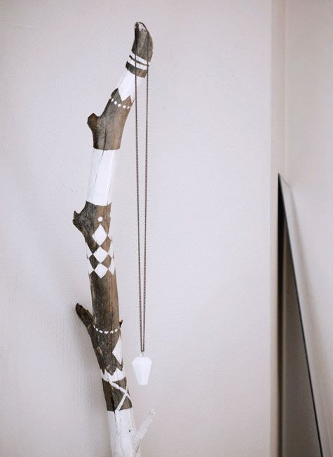 I collect branches all too often.  I have the perfect branch to do something like this!