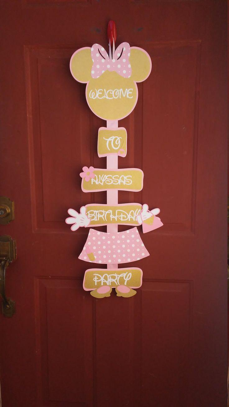 Best 25+ Minnie mouse party decorations ideas on Pinterest ...