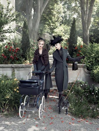 A Vogue US editorial - wonderfully typical of creative director Grace Coddington.