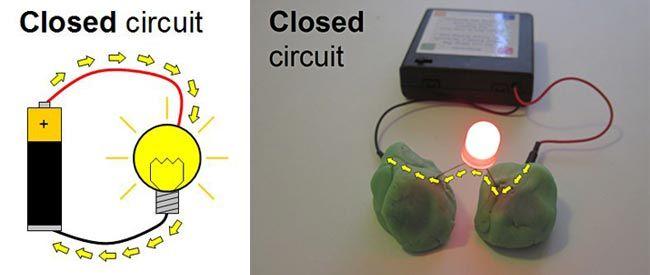 Open Circuit Diagram