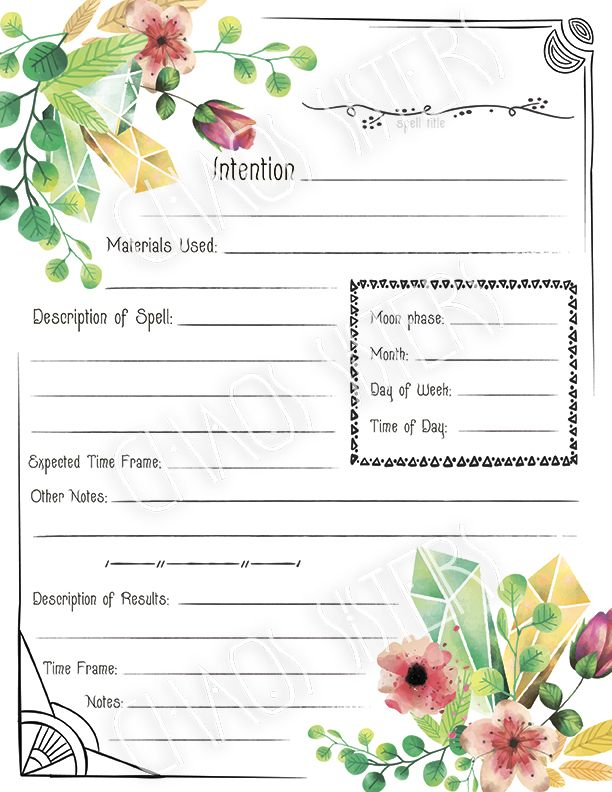 graphic about Printable Spell Templates referred to as Printable Guide of Shadows Spell Template Website page, Electronic