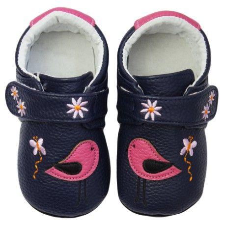 Baby topánky ROSE ET CHOCOLAT SWEET BIRDY, 19 - Rose et Chocolat
