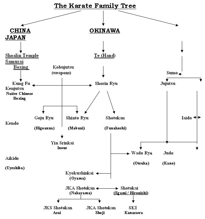 The different styles / systems of Karate: Part-I, The earliest systems - Martial Arts Planet