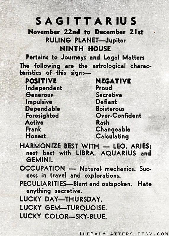 sagittarius zodiac meaning - 570×797