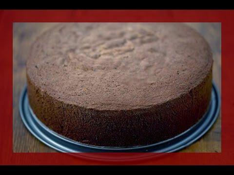 Schokoladen Biskuit Boden - Herstellung von hohem Schokoladen-Biskuit - von Kuchenfee - YouTube