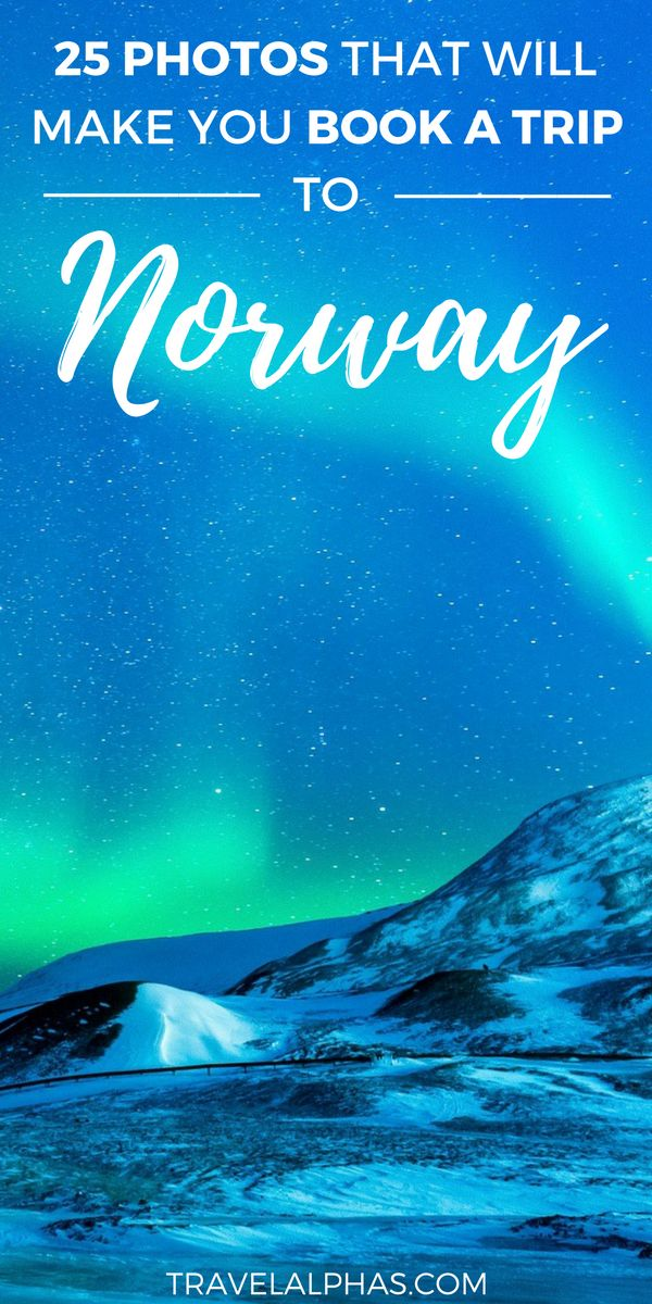 Are you planning to travel to Norway? Need some Norway travel inspiration? From its majestic wildlife, captivating Northern Lights shows, and snowy mountains, to its vivid landscapes, and mystifying fjords, Norway is a must-visit destination for anyone who loves the outdoors. Plus, opportunities for hiking, kayaking, glacier climbing, fishing, and skiing are endless! Here are 25 photos that will make you fall in love with Norway! Thanks for pinning!