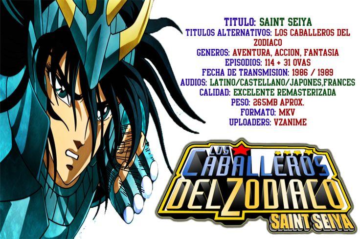 VZANIME: Caballeros del Zodiaco Remasterizado Multiaudio Latino/Español/Japones/Frances + Subs