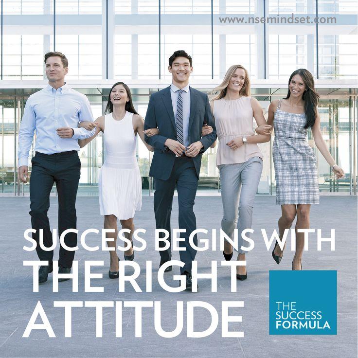 Success begins with the right attitude. #TSF #SuccessFormula #NuSkin