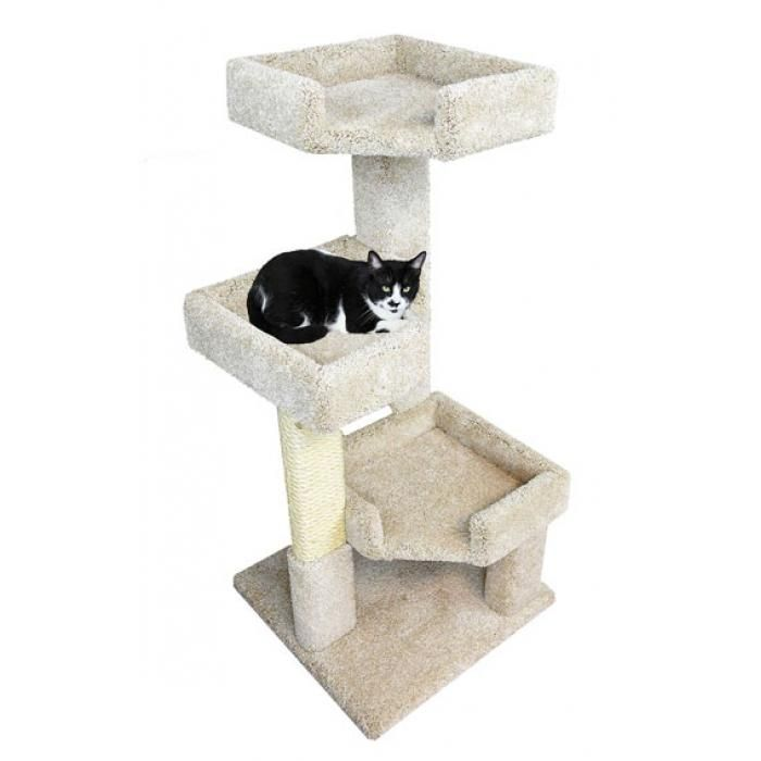 3 Level Cat Tree Furniture Perfect Spot For Lazy And Senior Cats Cat Condo Cat Tree Small Cat Tree Cat perches for large cats