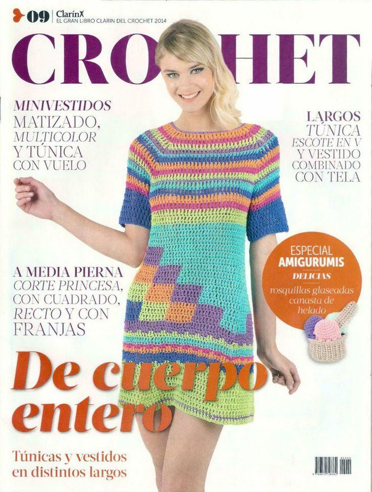El Gran Libro Clarin del Crochet №9 2014 - 轻描淡写 - 轻描淡写 ❤️LCM-MRS❤️ with diagrams.
