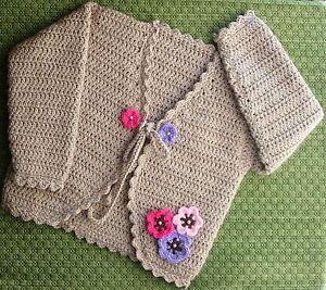 GIRLS CROCHET BOLERO | Crochet For Beginners