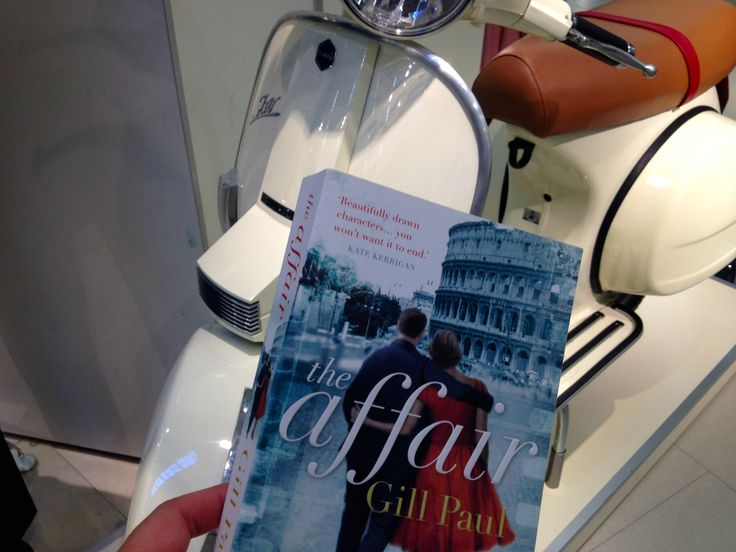 "Fiction set in ROME ""The Affair"" by Gill Paul takes you to Cinecittà and the Dolce Vita. Our review: http://www.tripfiction.com/fiction-set-in-rome-featuring-erotic-vagrant-cinecitta/"