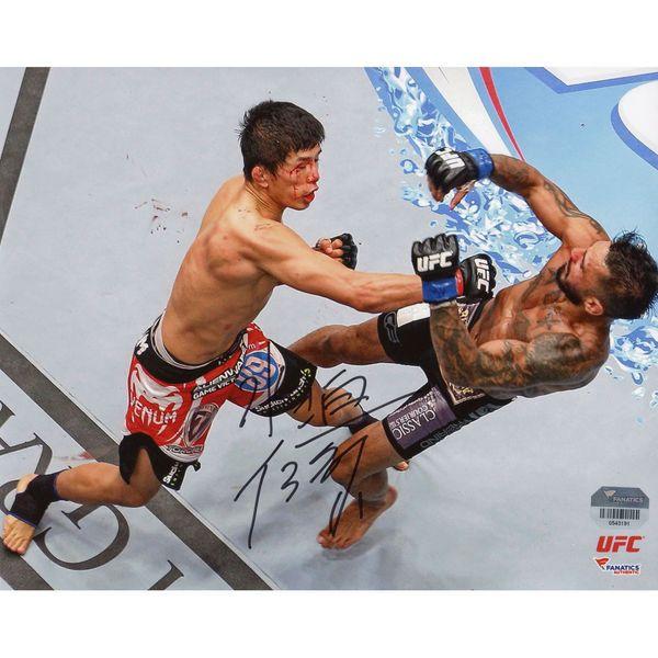 Takeya Mizugaki Ultimate Fighting Championship Fanatics Authentic Autographed 8'' x 10'' Knock Down Photograph - $24.99