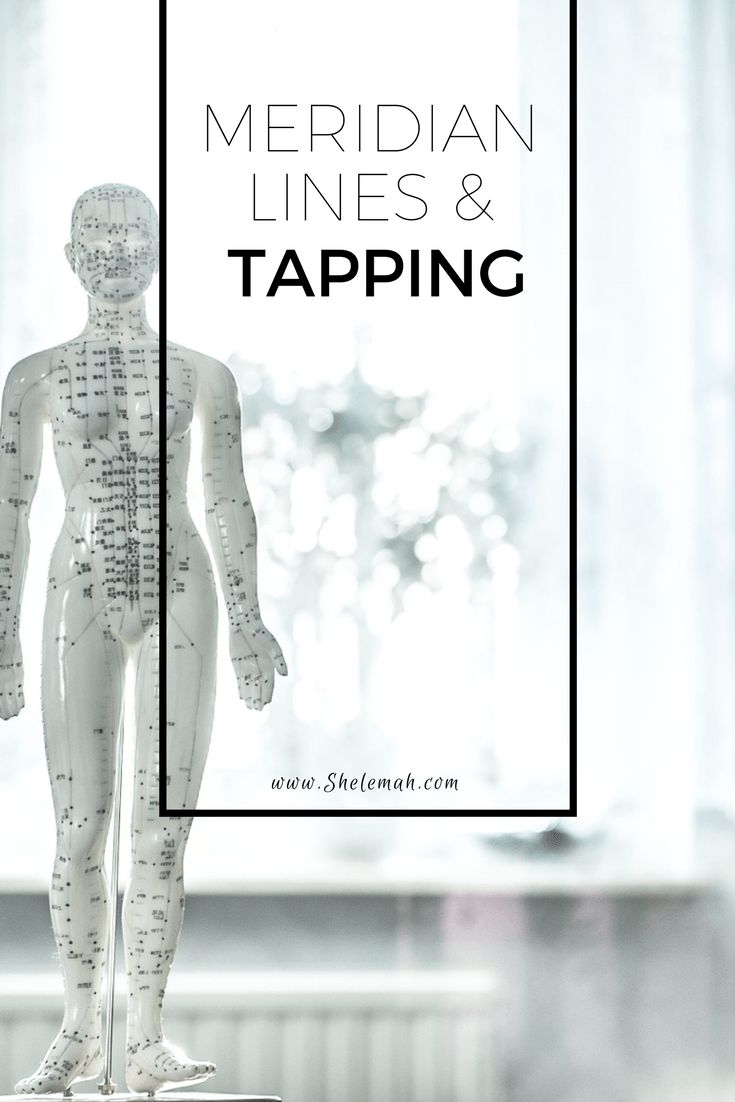Learn more about the science behind meridian lines and tapping therapies like EFT and TFT