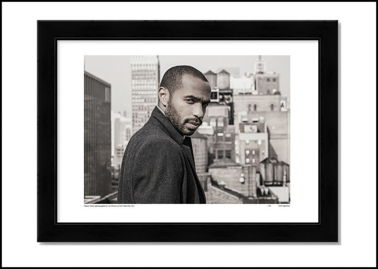 THIERRY HENRY, limited edition print. http://shop.leepowers.com/collections/portaits/products/thierry-henry