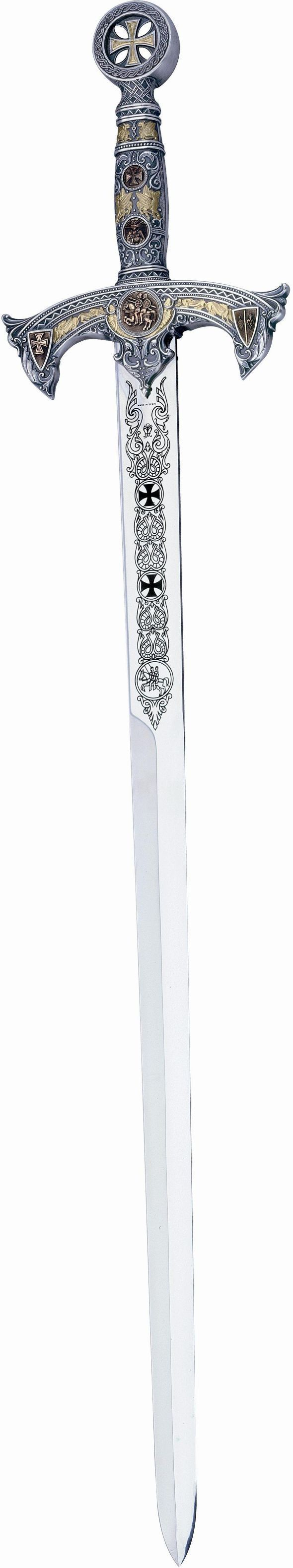 Knights Templar:  Silver Deluxe #Templar #Knights Sword, by Marto of Spain.