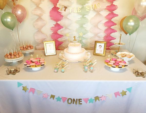 Crepe paper streamer garland by Party2Party on Etsy