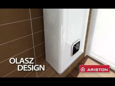Elektrische Boiler 80 liter, Ariston Velis. Plat ontwerp en horizontaal te plaatsen.