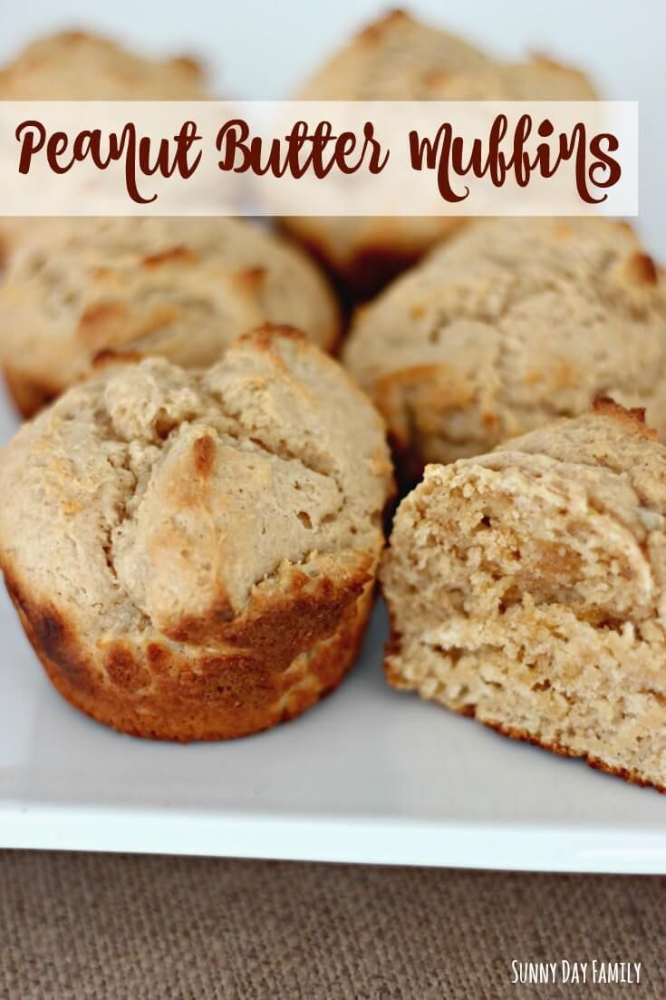 Protein Packed Peanut Butter Muffins Plus 10 Peanut Recipes & Activities for Kids