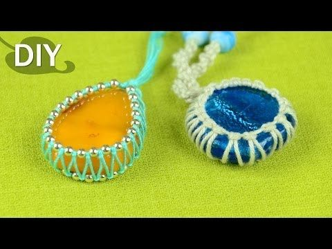 ▶ How to Wrap a Stone - Easy Tutorial (Cabochon) - YouTube