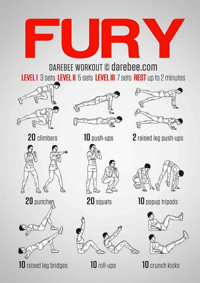 The Fury Road Bodyweight Workout is inspired by the 2015 movie Mad Max: Fury Road. The at-home bodyweight workout featured here is inspired by Charlize Theron's character, Imperator Furiosa.