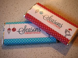 Utterly Organised: Free Printable Christmas Chocolate Bar Wrappers