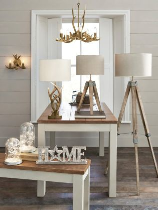 Add A Rustic Appeal To Your Home This Winter With Wooden Accents From Lighting