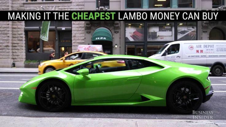 What it's like to drive the cheapest Lamborghini