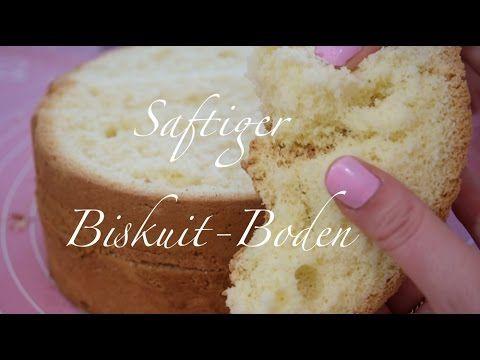Biskuit Boden Rezept - Einfacher Biskuitteig | Frau Zuckerfee