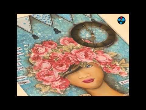 Cuadro Mix Media - Monica Godfroit en Manos a la Obra