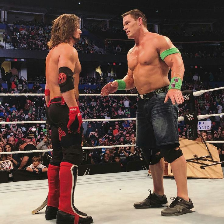 AJ Styles and John Cena Best Rivalries