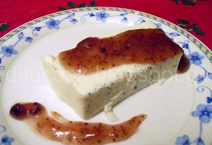Γευστικές απολαύσεις από σπίτι: Πανακότα με μαρμελάδα σύκο