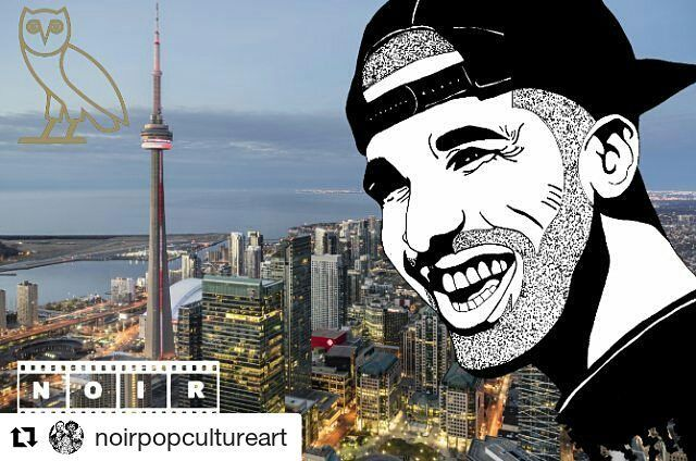 #Repost @noirpopcultureart (@get_repost)  In Celebration of Offically Opening at Yorkdale Mall The OVO Store.  This is a Drake Art Piece I Did a Few Months Back.  #drake #ovo #ovostore #rap #hiphop #toronto #art #artist #instaart #sketch #sketchbook #noir #noirart #noirpopcultureart #lifeformdrawingclub #the6ix #yorkdale #popart #potrait #gangster #gangsta #rapmonster #rapper #drawing #popculture #champagnepapi #ovofest #money #artforsale