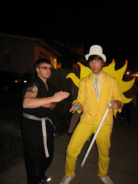 Dayman and Nightman costumes. SO AWESOME!