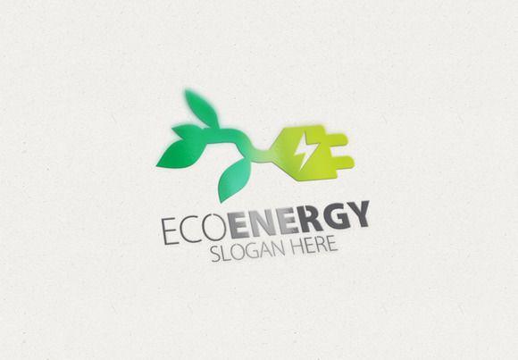 Eco Energy Logo by Creative Logo on Creative Market