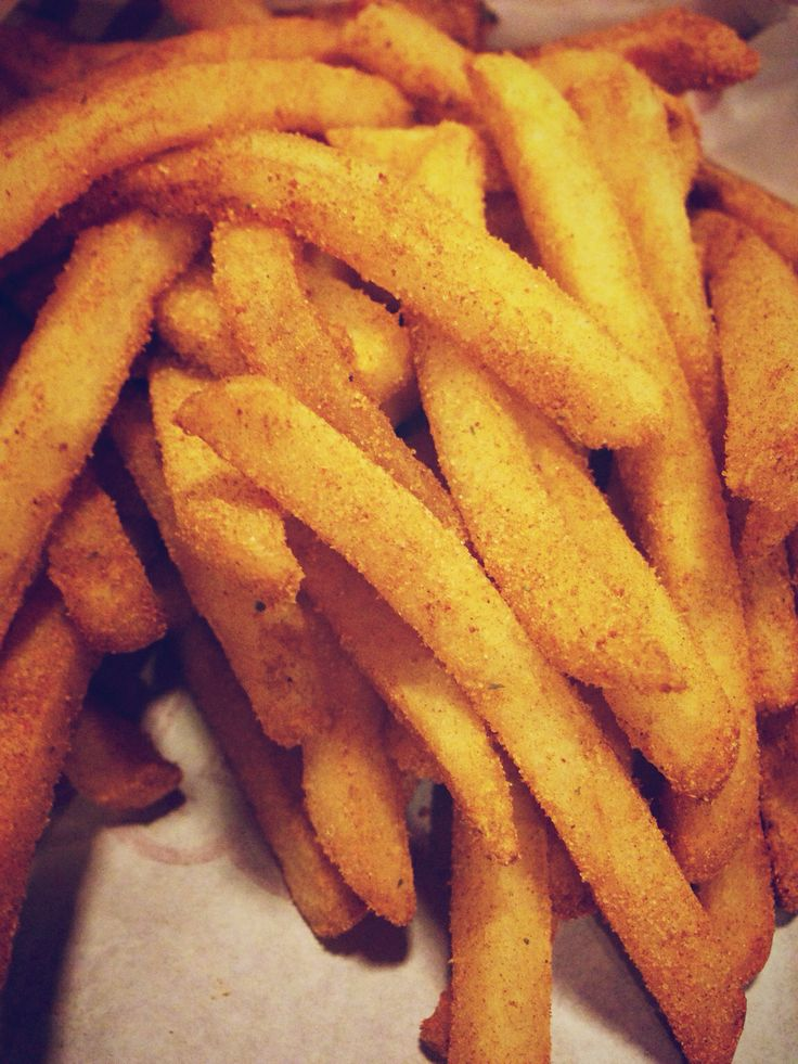 Bbq french fries