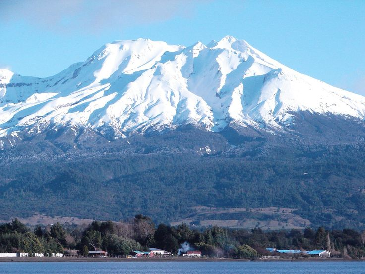 Volcán Calbuco, Chile.