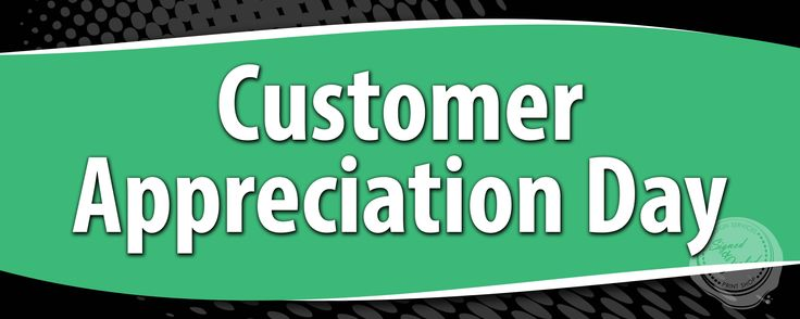 Customer Appreciation Day Banner - 34.3KB