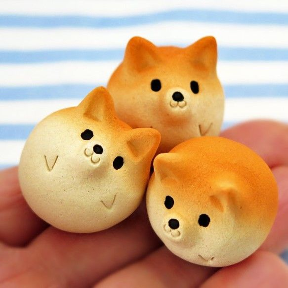 シバ玉ミニ 1点チョイス! 小さな柴犬置物 NEW!