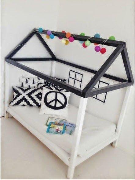 fun kid's bed #diy idea