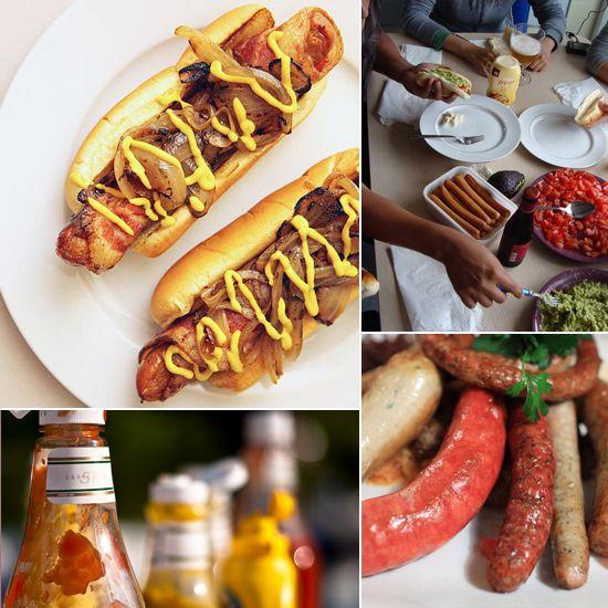Make Your Own Hot Dog Bar