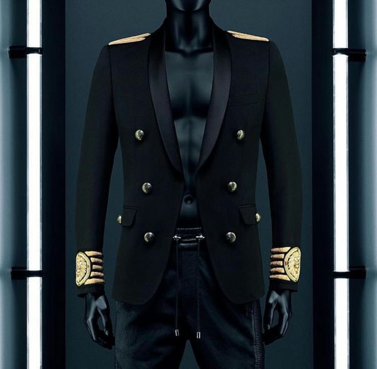 BALMAIN x H&M Lookbook MEN #BALMAINxHM #Balmaination