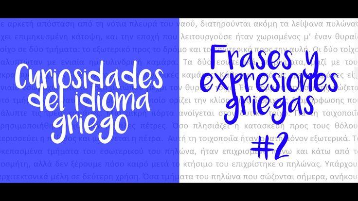 Mi gran aventura griega | Frases y expresiones griegas #2