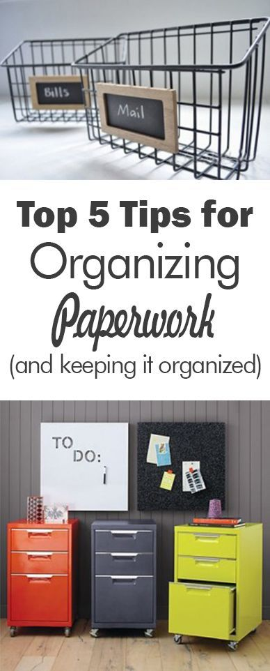 paperworks 101 Find and save ideas about organizing paperwork on pinterest paperwork organization 101: paper organization ideas 11 keep tax paperworks in separate file.