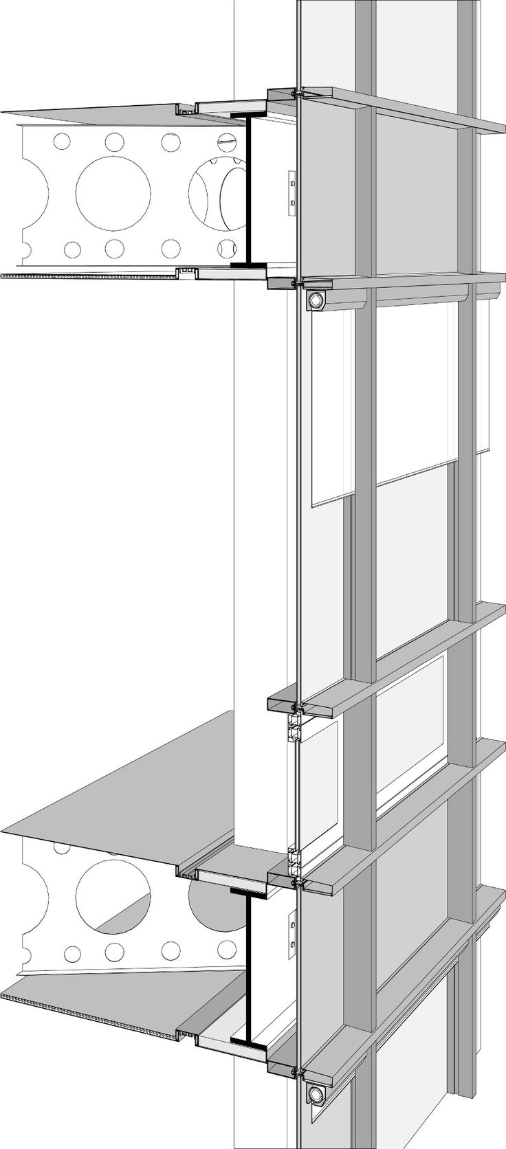 Curtain Wall Assembly : Best construction detail images on pinterest