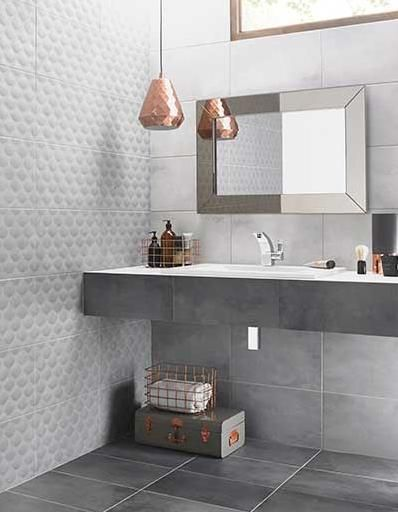 grey bathroom wall tiles from ted baker
