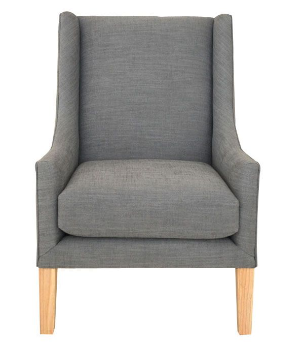 Urban Long Arm High Back Armchair | Upholstered