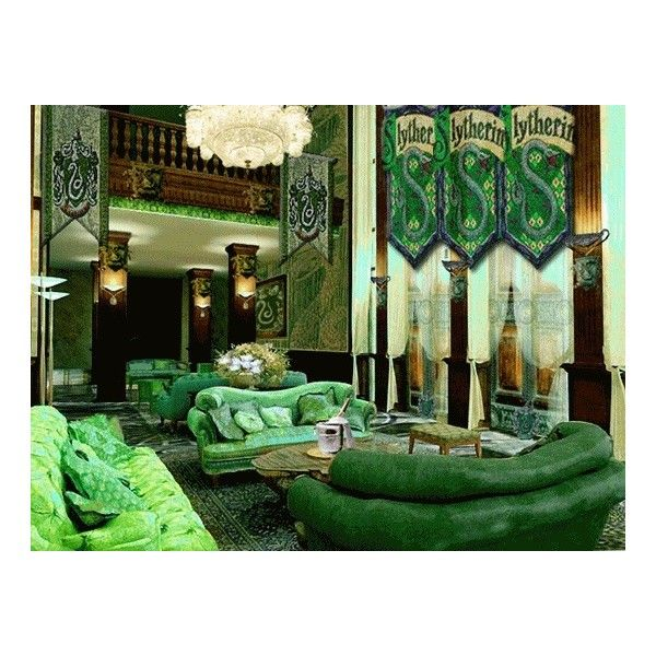 Slytherin common room   liked on Polyvore featuring harry potter  slytherin   backgrounds  hogwarts and photos   Random 3   Pinterest   Slytherin. Slytherin common room   liked on Polyvore featuring harry potter