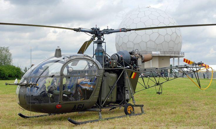 Alouette II op ATCC Semmerzake